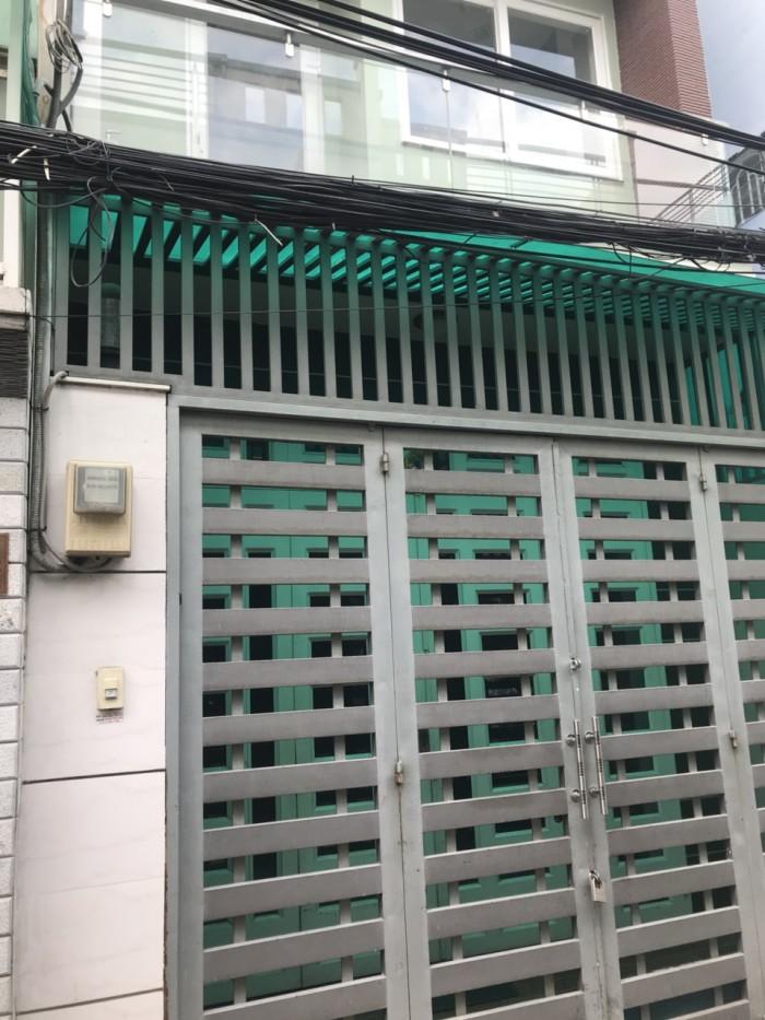Nhà hẻm giá rẻ đường Phú Thọ Hòa , DT 3,95m x 15,3m (NH4m)