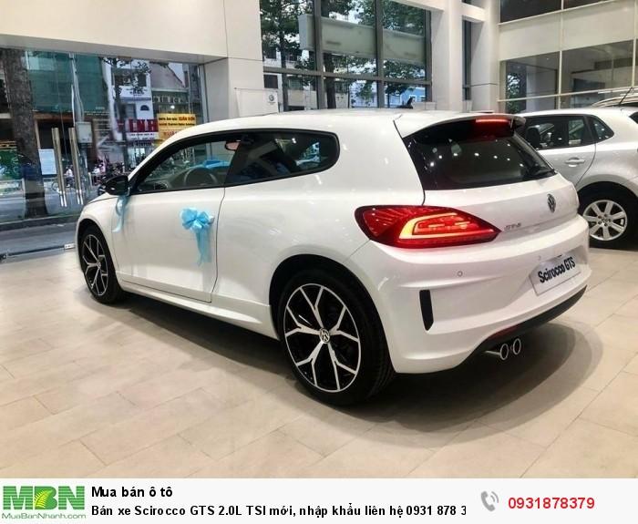 Bán xe Scirocco GTS 2.0L TSI mới, nhập khẩu nguyên chiếc, giao ngay, hỗ trợ vay 80% giá trị xe