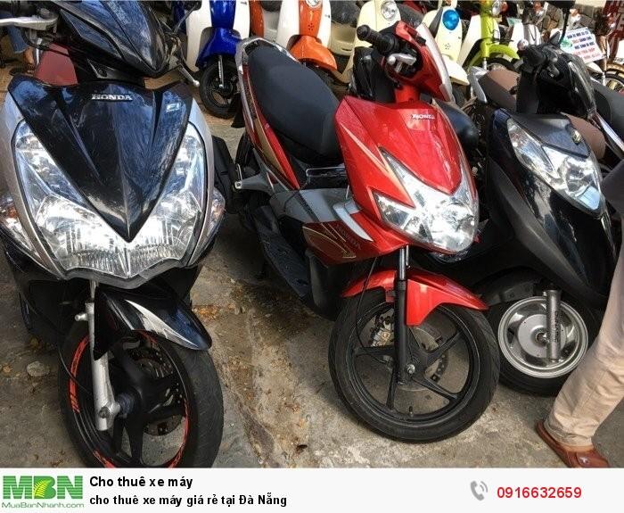 Cho thuê xe máy giá rẻ tại Đà Nẵng