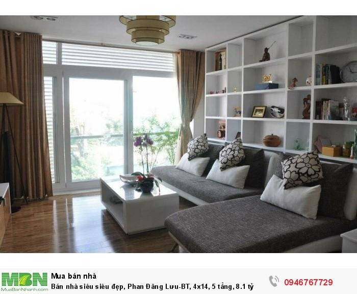 Bán nhà siêu siêu đẹp, Phan Đăng Lưu-BT, 4x14, 5 tầng