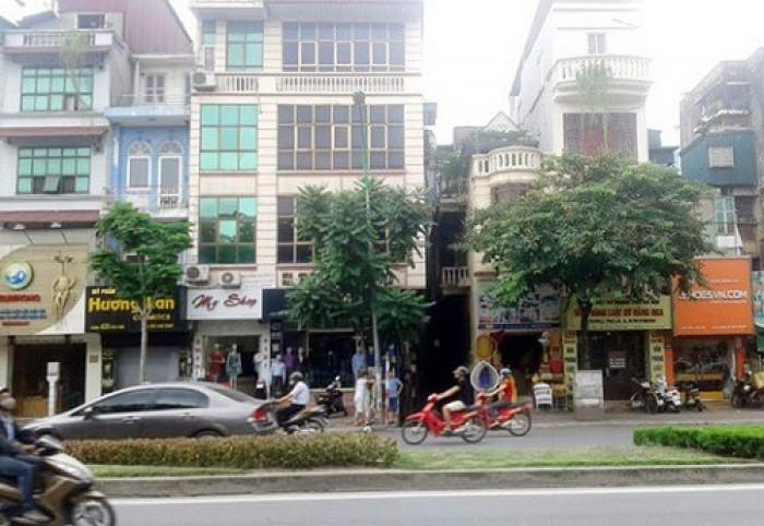 Bán nhà mặt phố Trung Kính, Trung Hòa, Cầu Giấy 100m2 x 5 tầng 23,5 tỷ KD sầm uất