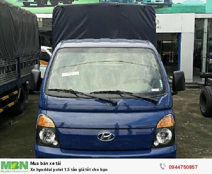 Xe Hyundai Porter 1.5 tấn giả tốt cho bạn 3