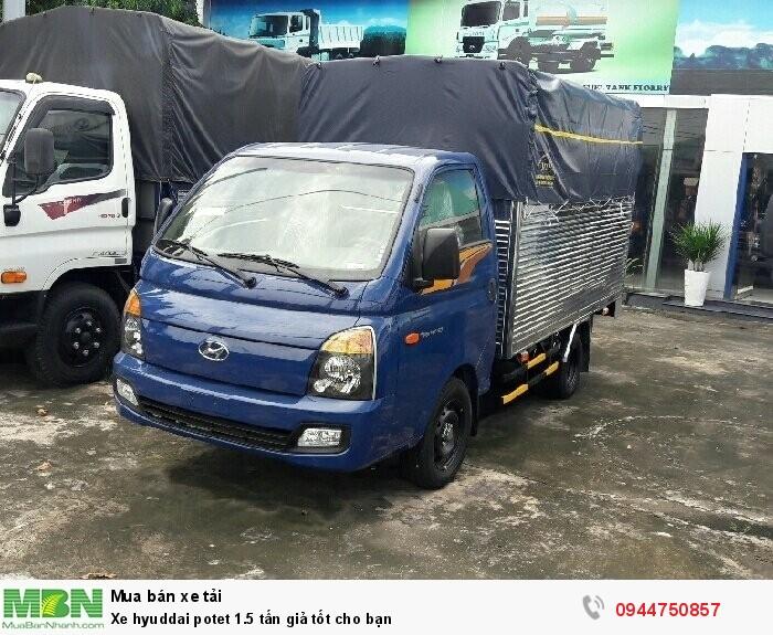 Xe Hyundai Porter 1.5 tấn giả tốt cho bạn 4