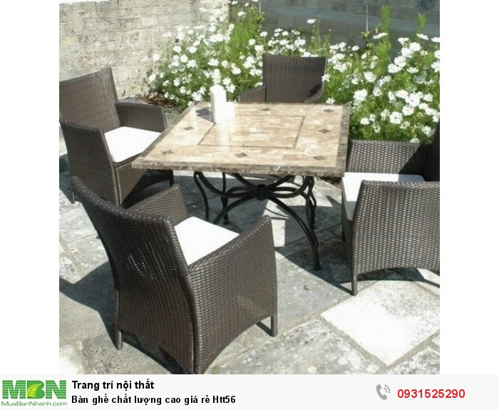 Bàn ghế chất lượng cao giá rẻ Htt560