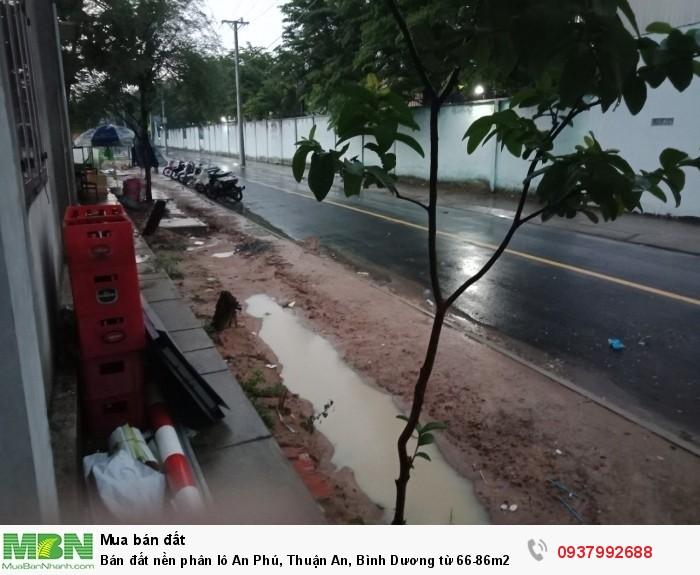 Bán đất nền phân lô An Phú, Thuận An, Bình Dương từ 66-86m2, giá chỉ từ 1,4 tỷ.