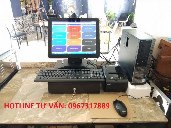 Máy tính tiền cho nhà hàng tại Quảng Bình0