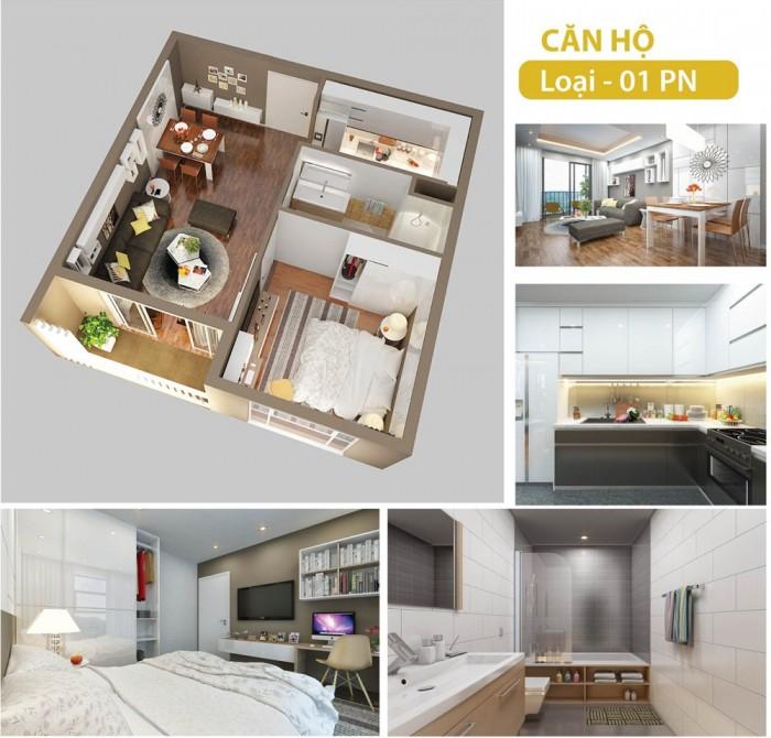 Cần cho thuê căn hộ cao cấp Gold View  cho thuê 1 phòng đầy đủ 16 triệu/tháng