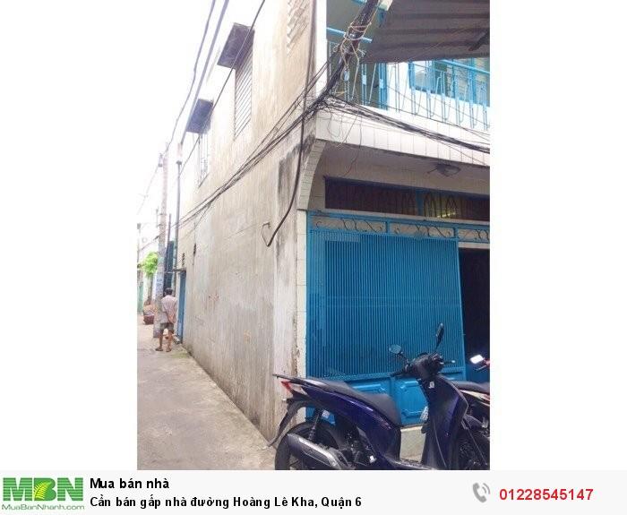 Cần bán gấp nhà đường Hoàng Lê Kha, Quận 6
