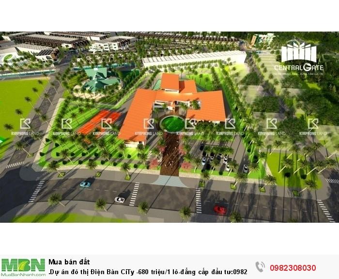 Dự án đô thị Điện Bàn CiTy -680 triệu/1 lô-đẳng cấp đầu tư