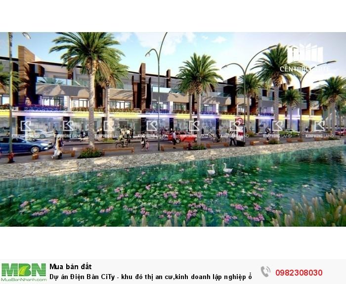 Dự án Điện Bàn CiTy - khu đô thị an cư,kinh doanh lập nghiệp ổn định