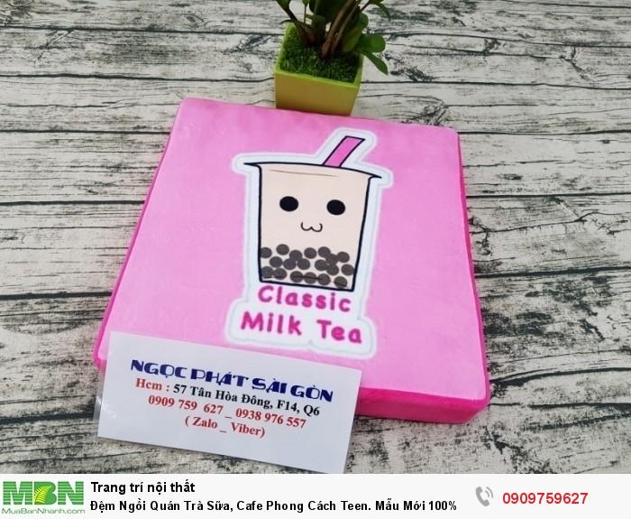 Đệm ngồi bệt, đệm ngồi trà sữa. Nệm ngồi bệt, nệm ngồi, nệm lót ngồi trà sữa.1