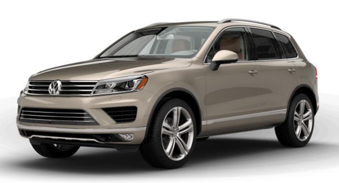 Volkswagen Touareg sản xuất năm 2017 Số tự động Động cơ Xăng