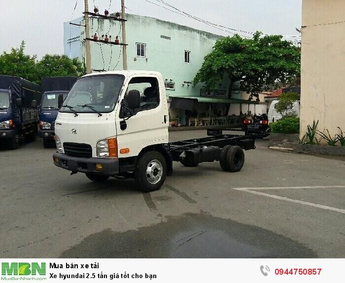 Xe Hyundai  N250 2.5 tấn  giá tốt cho bạn