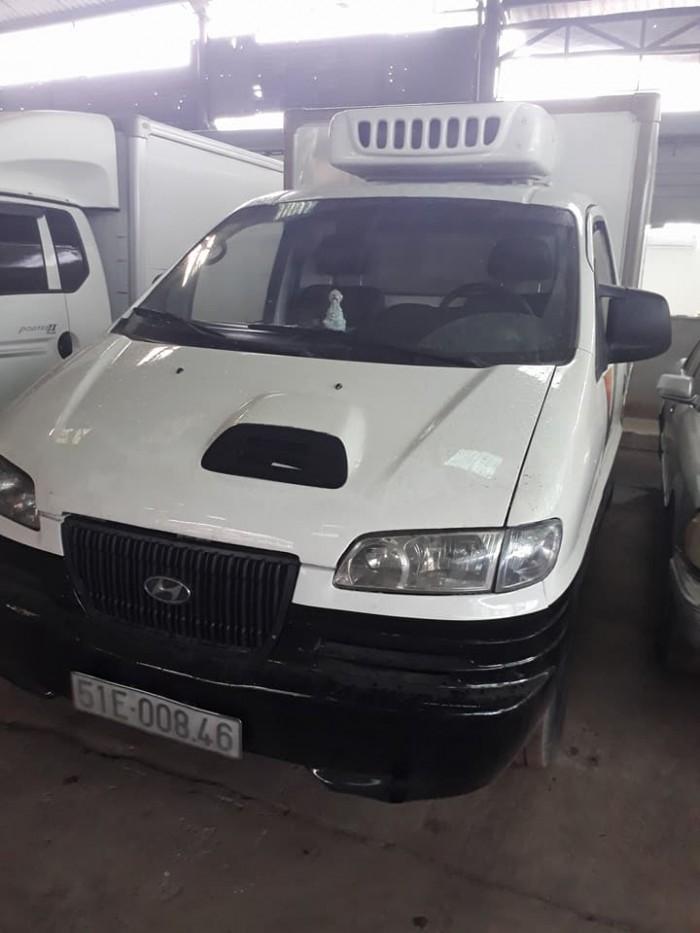 Hyundai libero đông lạnh 900kg, sản xuất năm 2004 hàn quốc