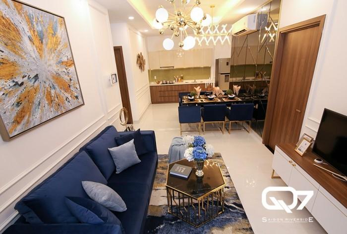 Căn hộ liền kề Phú Mỹ Hưng, View sông, tặng nội thất cao cấp