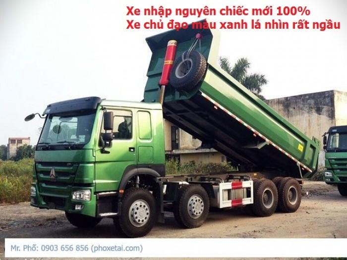 Xe Ben Howo 4 Chân 17 Tấn- Hot Hot, Giá Sốc