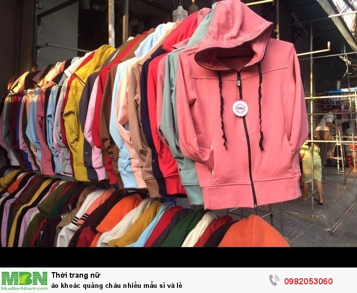 Áo khoác Quảng Châu nhiều mẫu sỉ và lẻ1