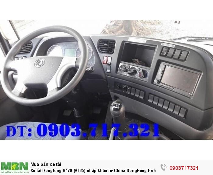 Xe tải Dongfeng B170 (9T35) nhập khẩu từ China.DongFeng Hoàng Huy B170 9350Kg 4