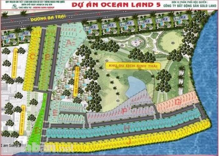 Cần bán gấp 11 nền đất Ocean Land tại các mặt tiền đường