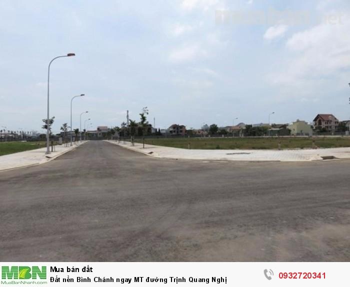 Đất nền Bình Chánh ngay MT đường Trịnh Quang Nghị