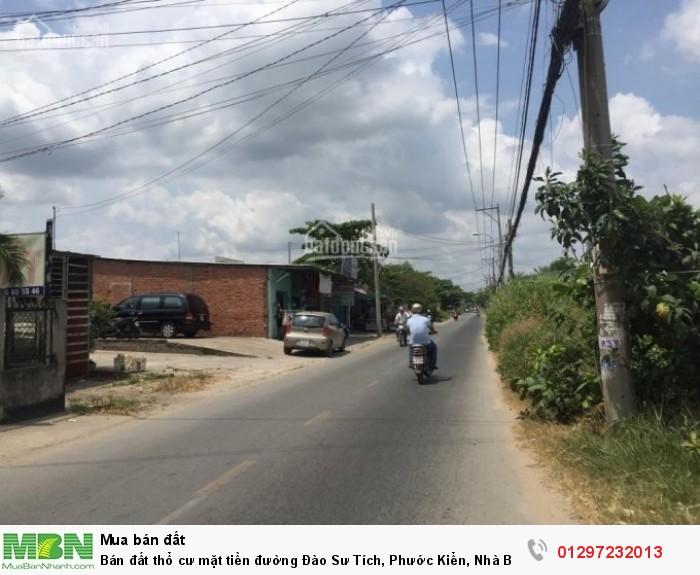 Bán đất thổ cư mặt tiền đường Đào Sư Tích, Phước Kiển, Nhà Bè, 185m2
