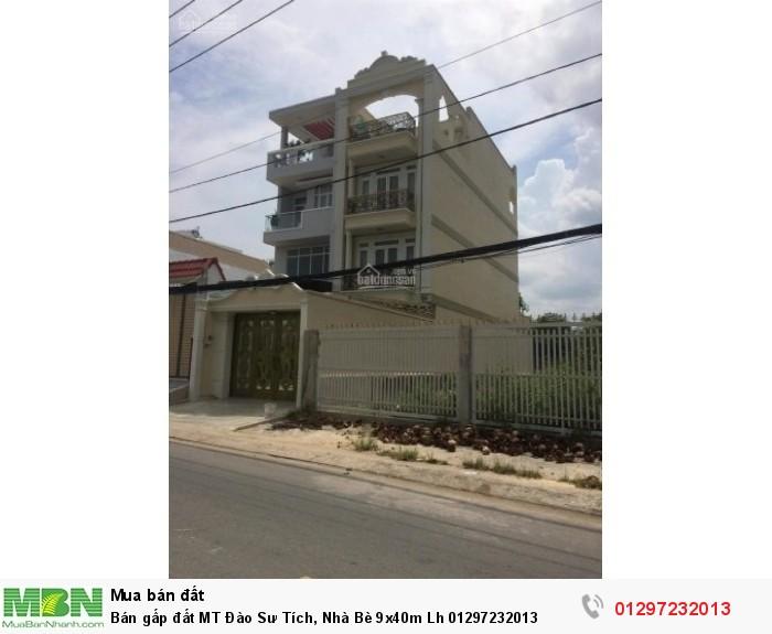 Bán gấp đất MT Đào Sư Tích, Nhà Bè 9x40m