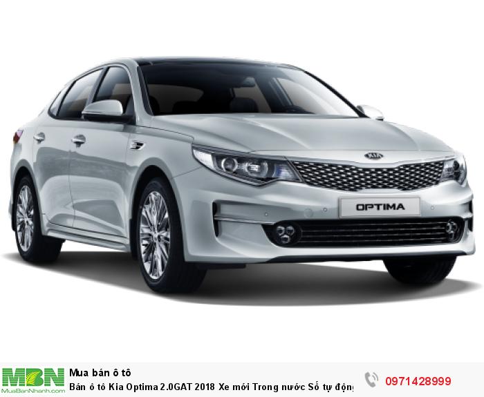 Bán ô tô Kia Optima 2.0GAT 2018 Xe mới Trong nước Số tự động tại Hà Nội