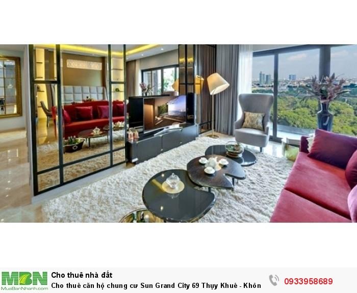 Cho thuê căn hộ chung cư Sun Grand City 69 Thụy Khuê - Không gian sống đẳng cấp tại Hà Nội