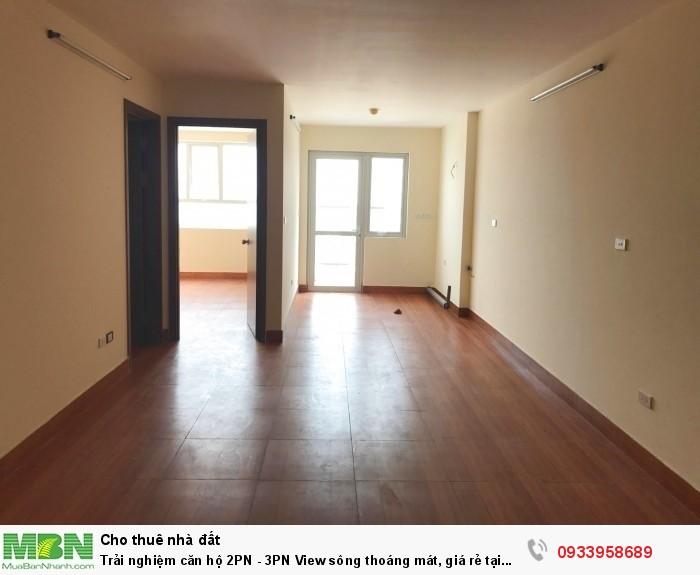 Trải nghiệm căn hộ 2PN - 3PN View sông thoáng mát, giá rẻ tại Minh Khai