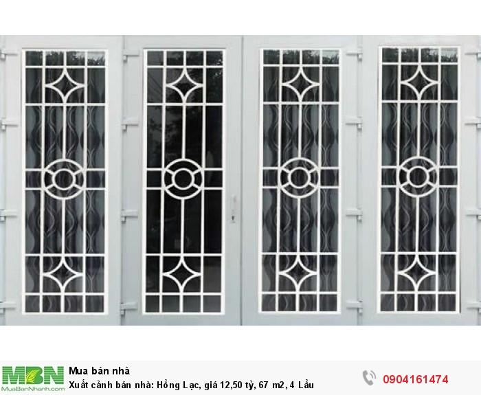 Xuất cảnh bán nhà: Hồng Lạc, giá 12,50 tỷ, 67 m2, 4 Lầu