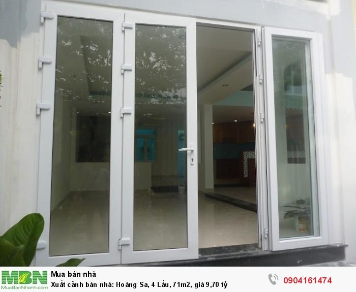 Xuất cảnh bán nhà: Hoàng Sa, 4 Lầu, 71m2, giá 9,70 tỷ