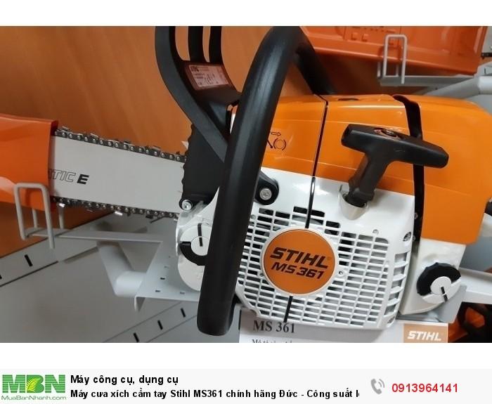 Máy cưa xích cầm tay Stihl MS361 chính hãng Đức - Công suất lớn và bền bỉ