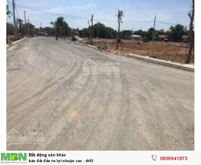 Bán đất đầu tư lợi nhuận cao - dt45