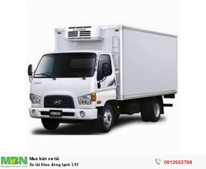 Xe tải Hino đông lạnh 1.9T