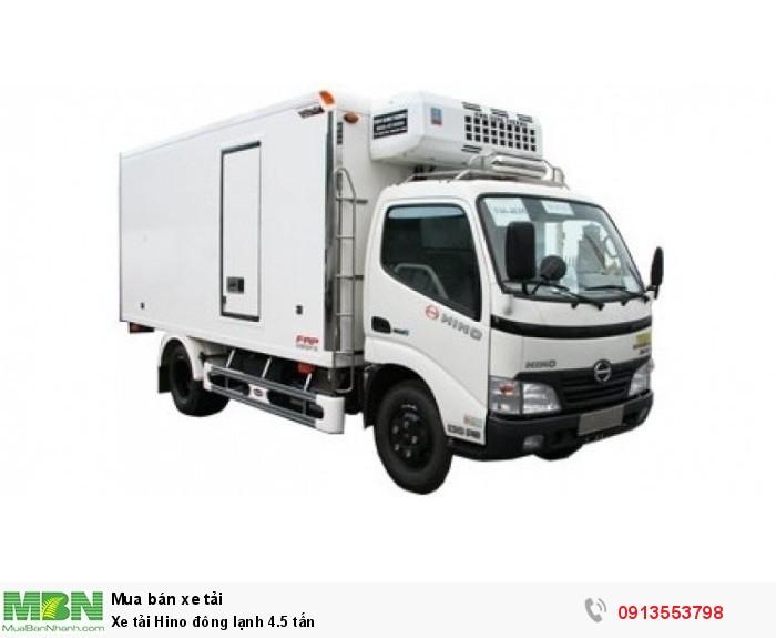 Xe tải Hino đông lạnh 4.5 tấn