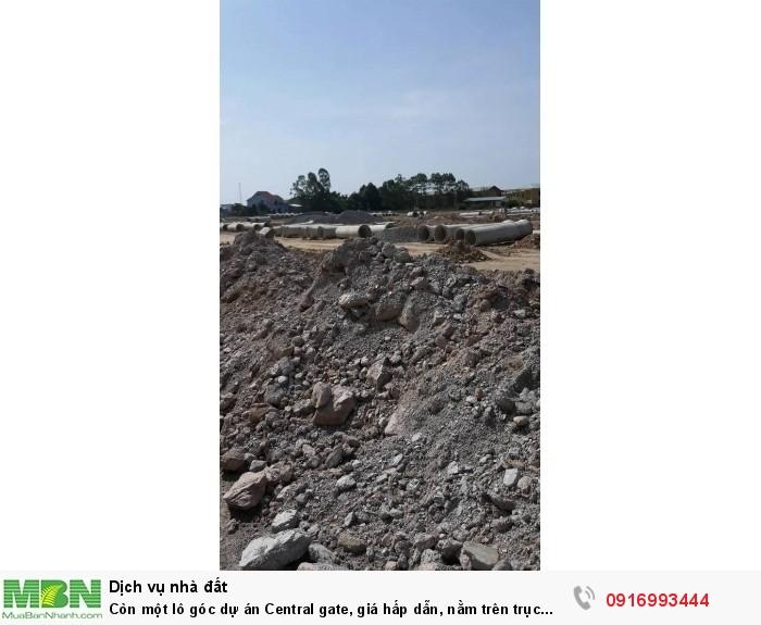 Còn một lô góc dự án Central gate, giá hấp dẫn, nằm trên trục đường 33m, Điện Bàn, Quảng Nam