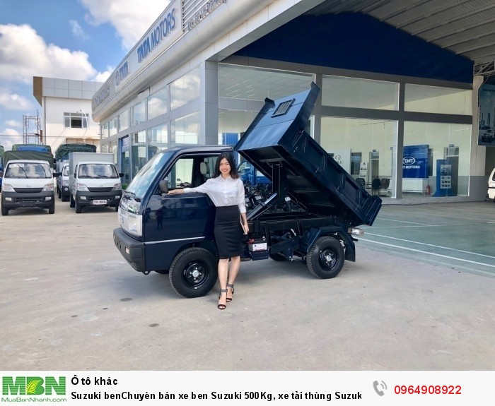 Suzuki ben Chuyên bán xe ben Suzuki 500Kg, xe tải thùng Suzuki 500Kg, 550Kg, 650Kg, 750Kg lắp ráp nhập 2
