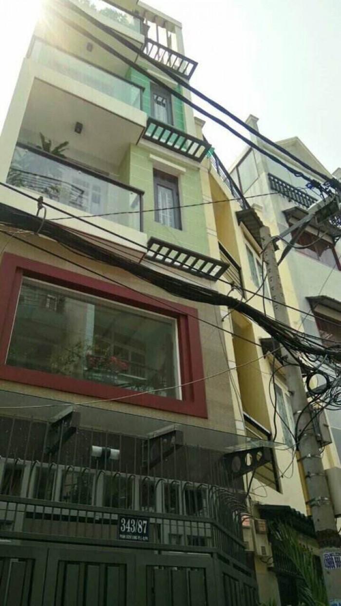 Bán nhà Tân Bình, nguyễn Bặc Phường 3, 5.3 x 11m