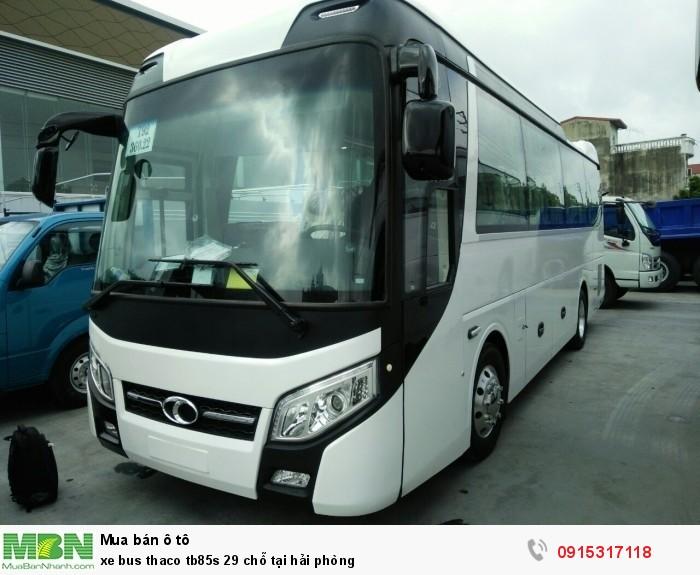 Xe bus thaco tb85s 29 chỗ tại Hải Phòng 0