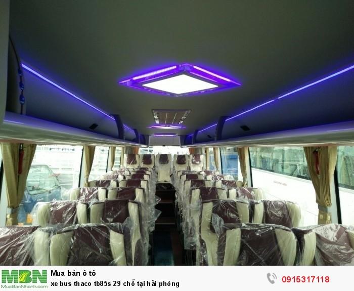 Xe bus thaco tb85s 29 chỗ tại Hải Phòng 1