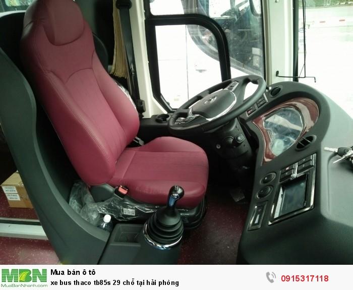 Xe bus thaco tb85s 29 chỗ tại Hải Phòng 2