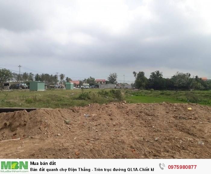Bán đất quanh chợ Điện Thắng - Trên trục đường QL1A-Chiết khấu 15%