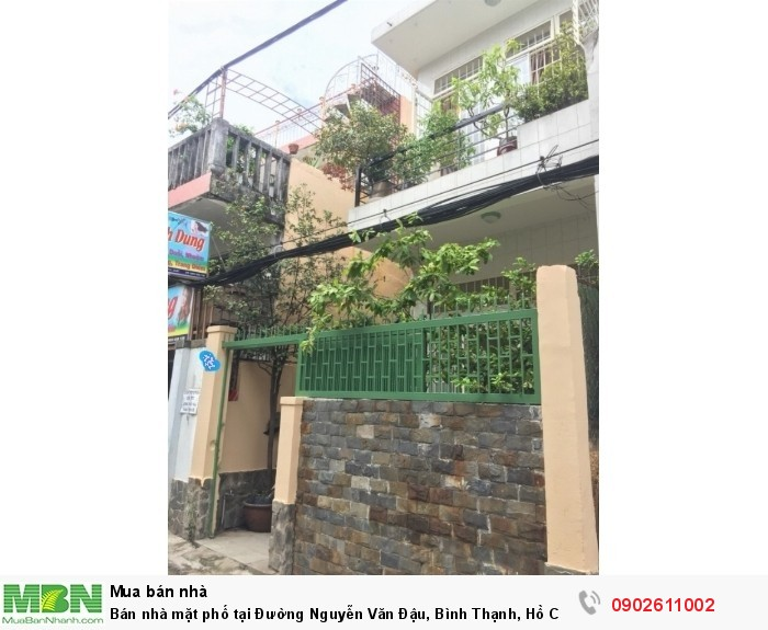 Bán nhà mặt phố tại Đường Nguyễn Văn Đậu, Bình Thạnh, Hồ Chí Minh diện tích 54m2 giá 6.45 Tỷ