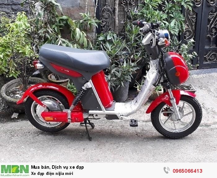 Xe đạp điện nijia mới
