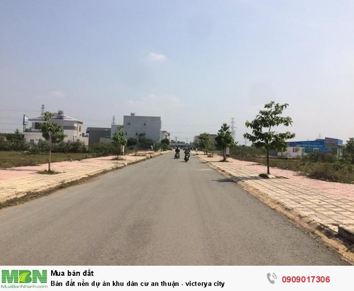 Bán đất nền dự án khu dân cư an thuận - victorya city
