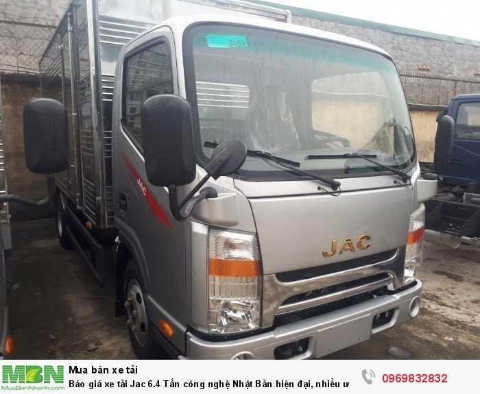 Gọi báo giá xe tải jac 6t4 chi tiết nhận nhiều ưu đãi trong tháng!