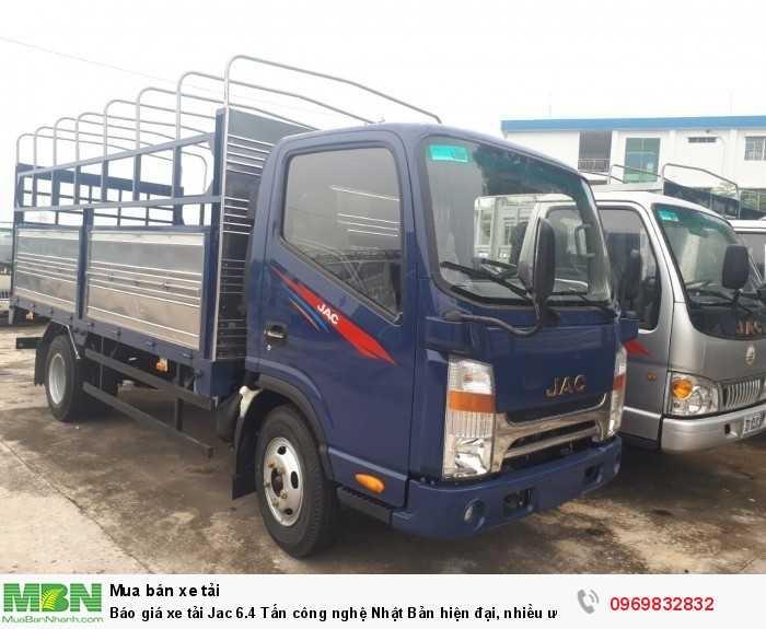 Xe tải Jac 6.4 tấn có sẵn đủ màu, đủ loại thùng hàng giao nhanh! Liên hệ Mr Độ 0969 832 832 tư vấn tận tình 24/24