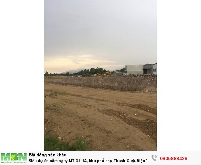 Siêu dự án nằm ngay MT QL 1A, khu phố chợ Thanh Quýt-Điện Thắng Trung