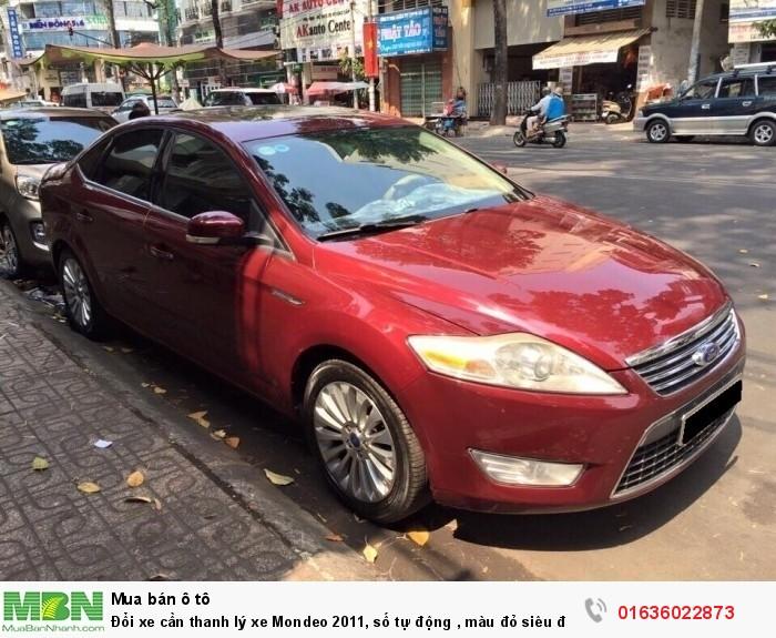 Đổi xe cần thanh lý xe Mondeo 2011, số tự động , màu đỏ siêu đẹp long lanh.