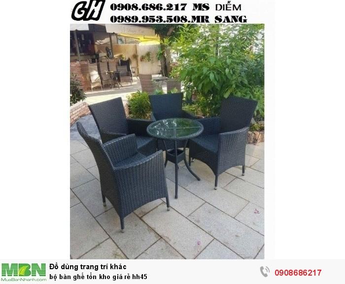 Bộ bàn ghế tổn kho giá rẻ hh450